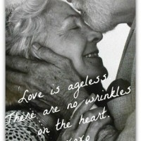 There are no wrinkles on the heart.