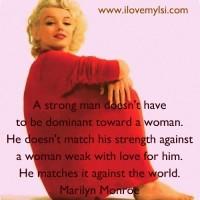 A strong man.