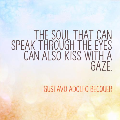 Gustavo Adolfo BecQuer love poem