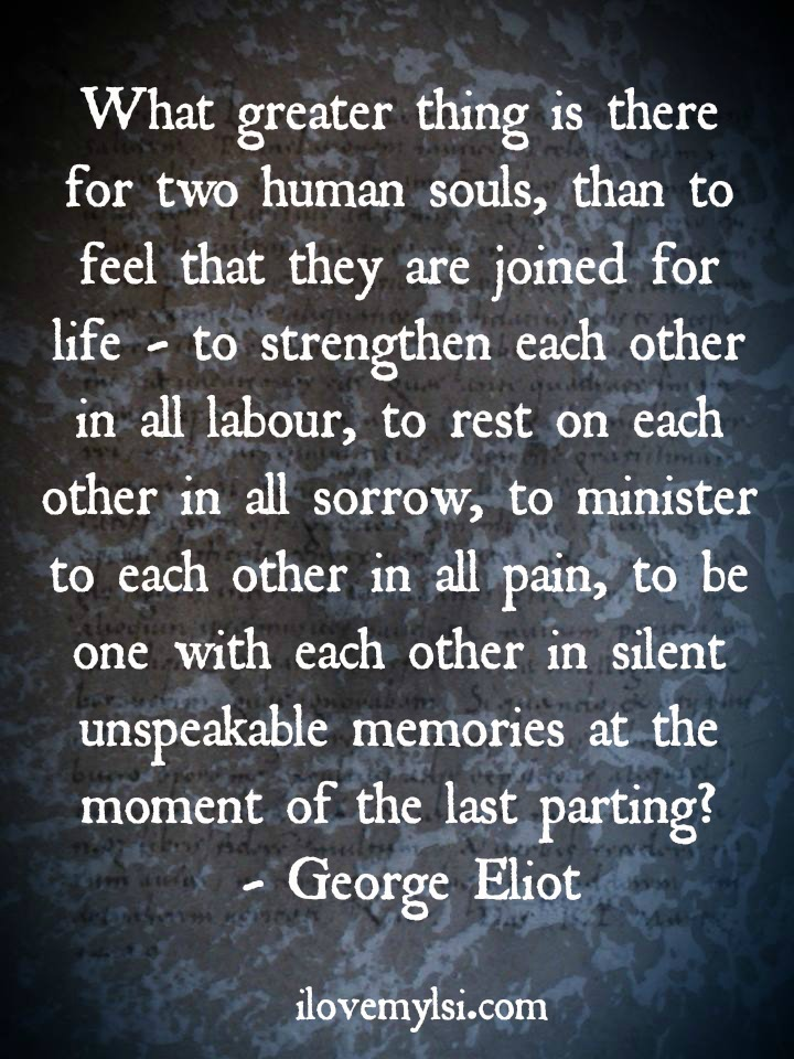 The 25 Most Romantic Love Quotes You Will Ever Read: Two Human Souls.