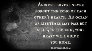 Ancient lovers.