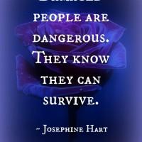 Damaged people.