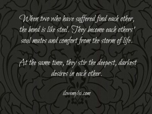 When two who have suffered.