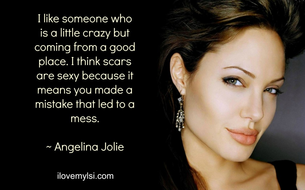 I like someone who is a little crazy.