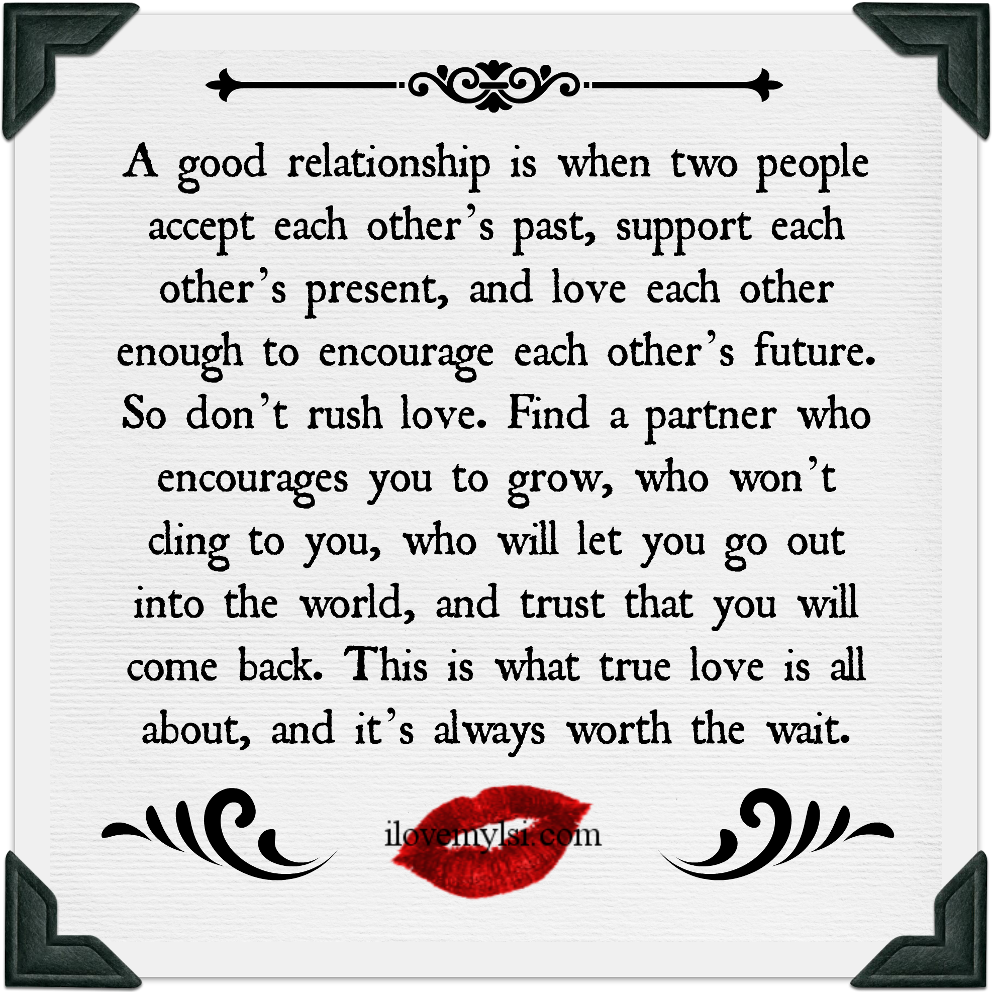 Quotes About Trust And Love In Relationships A Good Relationship I Love My Lsi