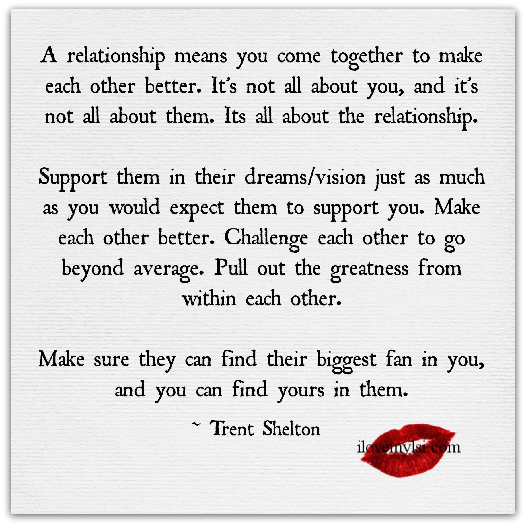 Love And Relationships Quotes A Relationship Means You Come Together I Love My Lsi