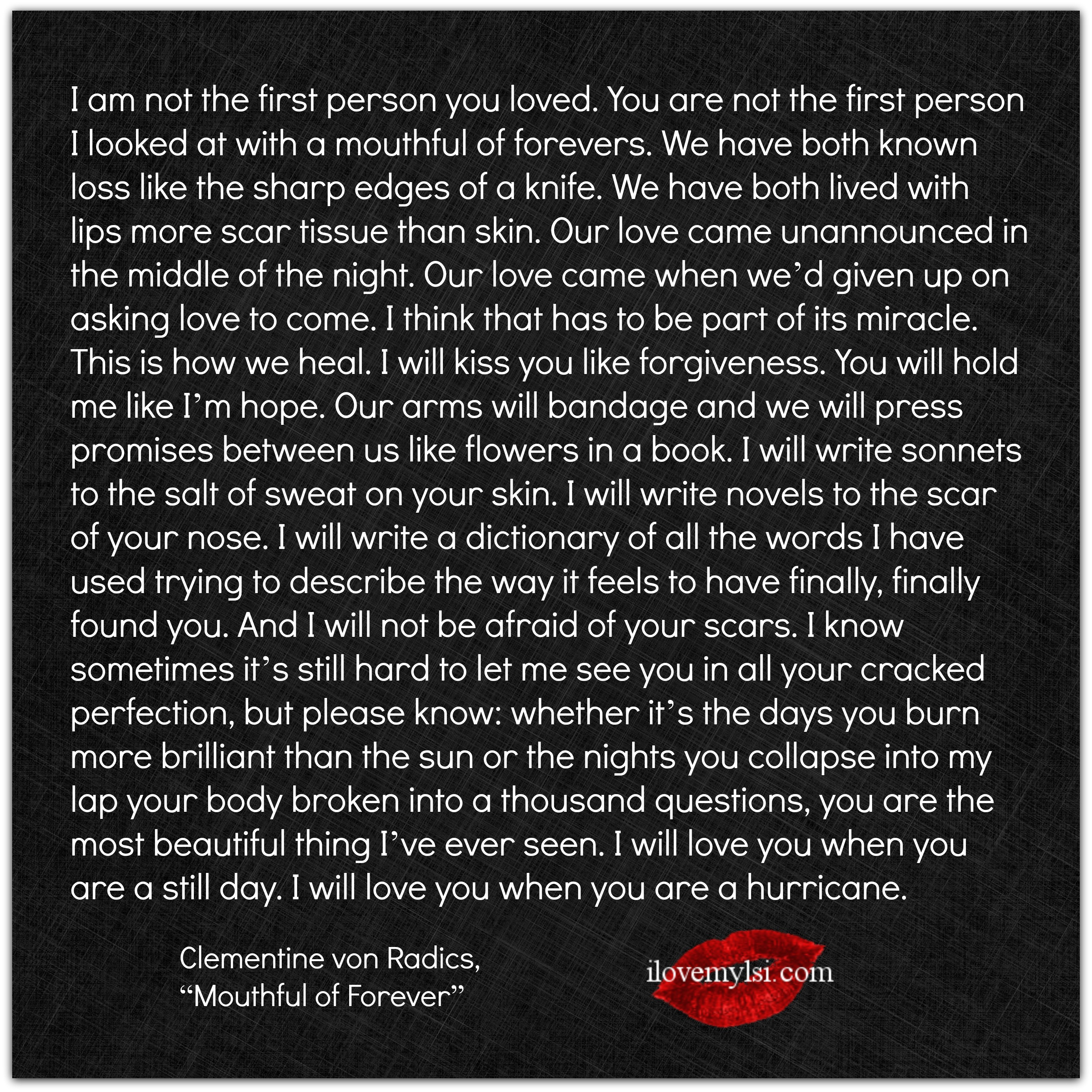 Can i love you forever quotes