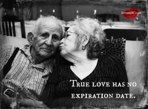 True love has no expiration date.