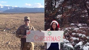 New York couple's Christmas card goes viral