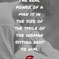 the real power of a man