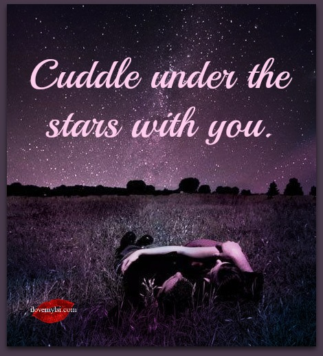 I Would Cuddle With You: Cuddle Under The Stars