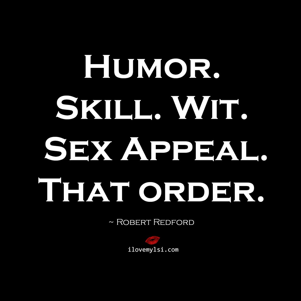 Humor Skill Wit Sex Appeal