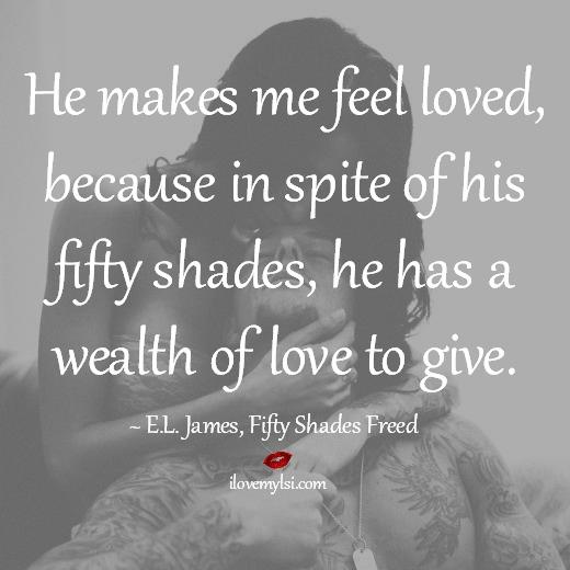 He makes me feel loved
