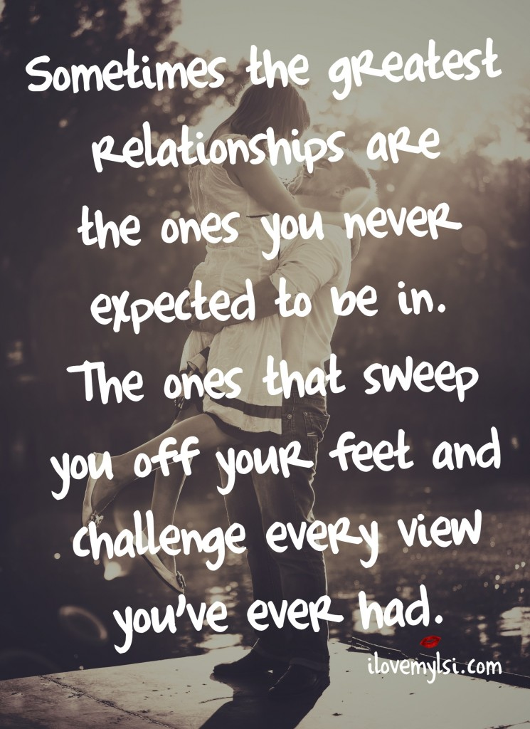 sometimes the greatest relationship are the ones