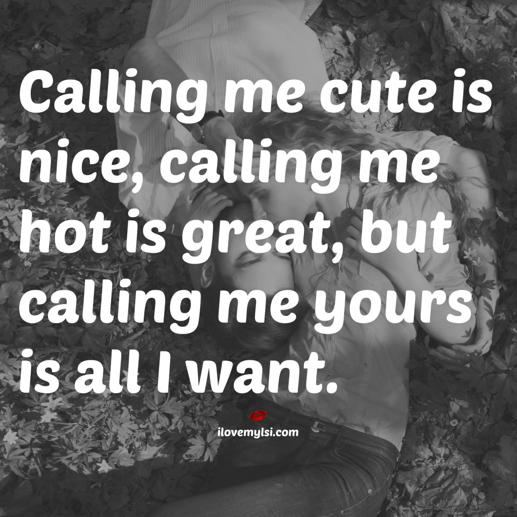 Call me yours