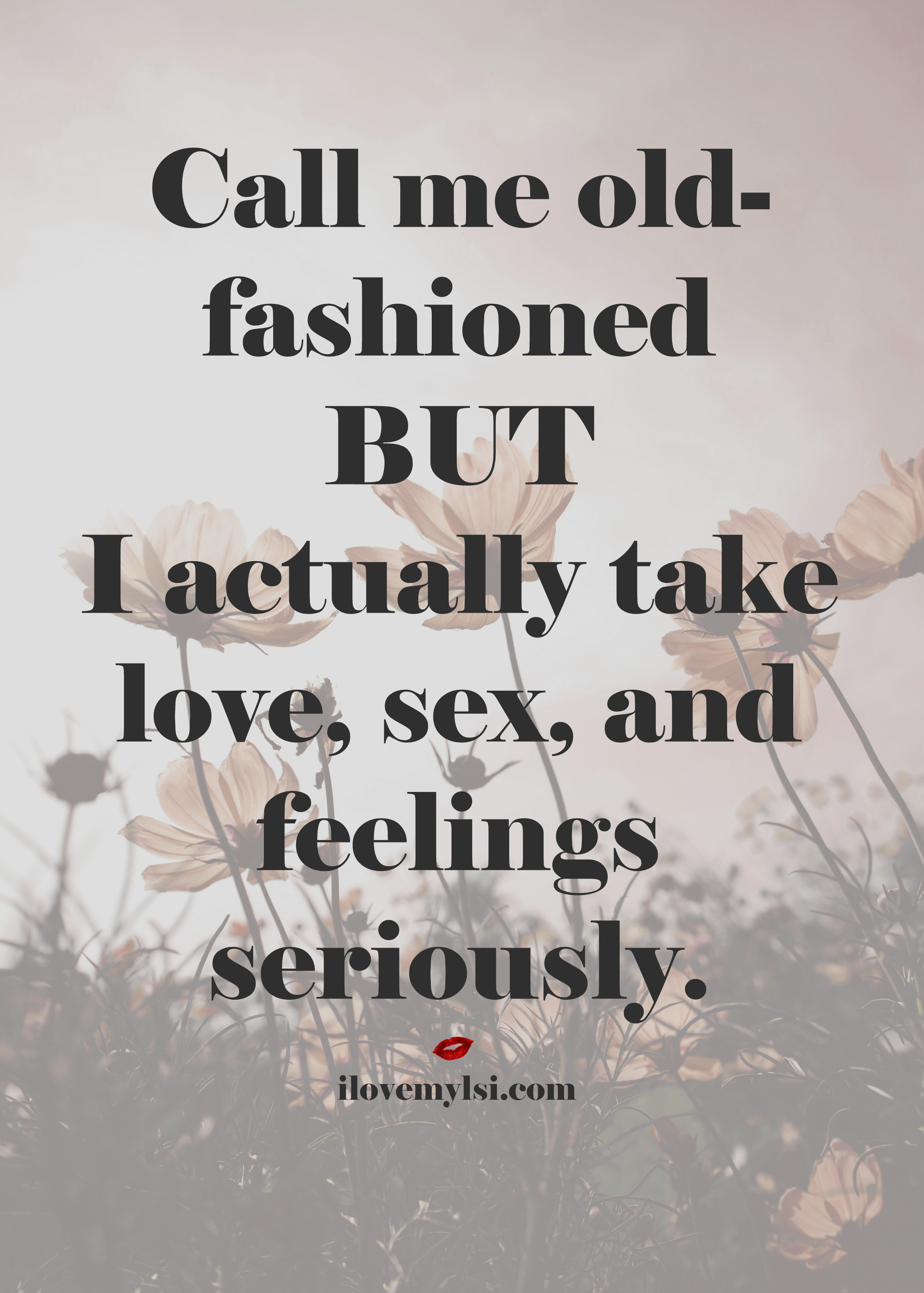 Call me old-fashioned - I Love My LSI