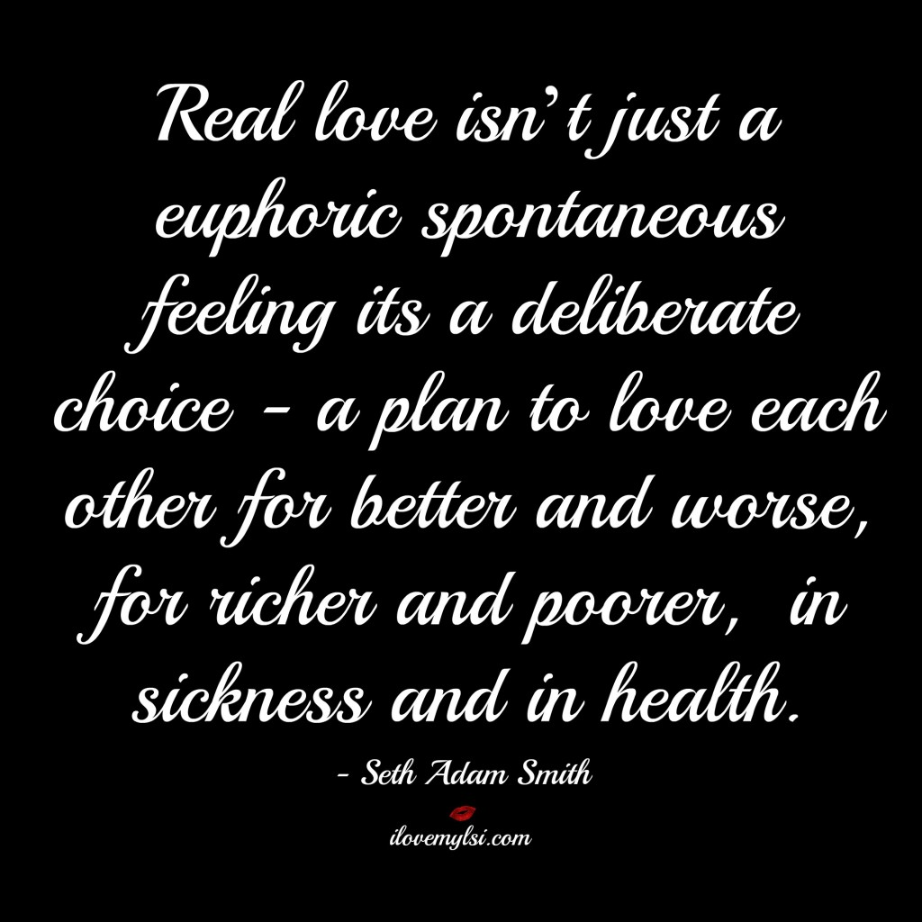 real love isn't just a euphoric