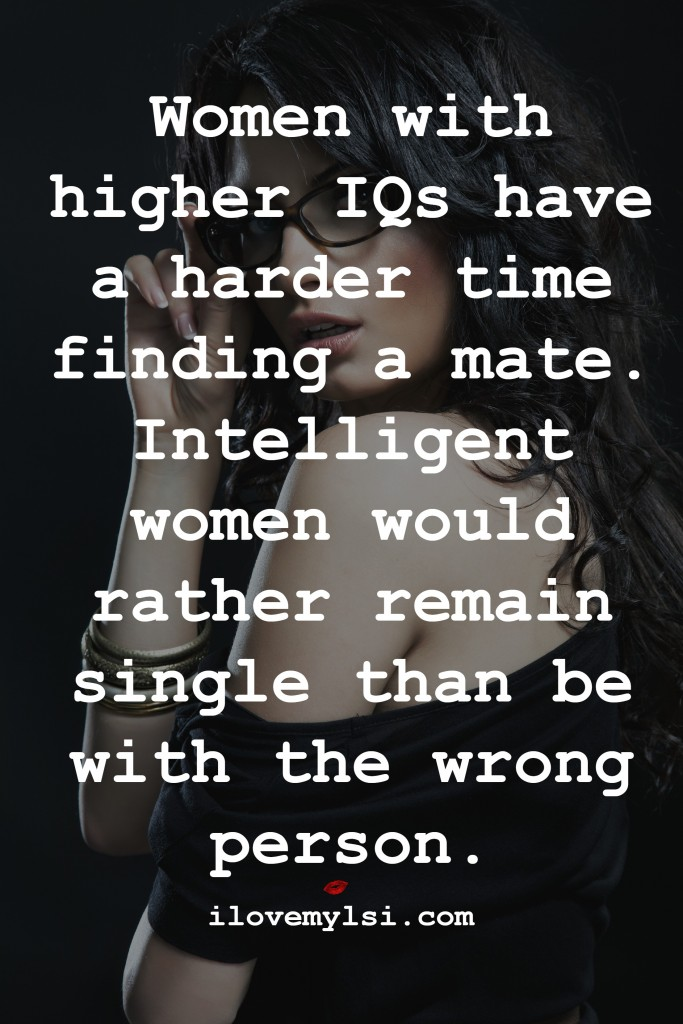 women with higher iqs